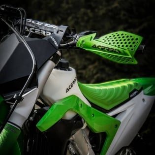 Acerbis X-Ultimate Handguards - Blue White Image 2