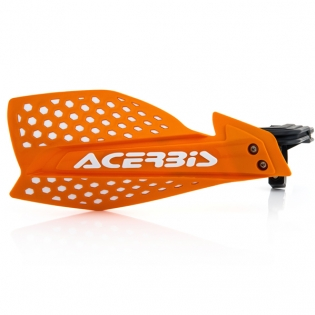 Acerbis X-Ultimate Handguards - Orange White Image 3