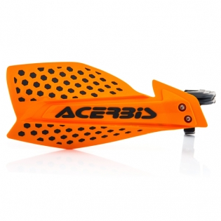 Acerbis X-Ultimate Handguards - Orange Black Image 3