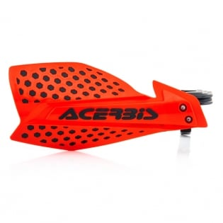 Acerbis X-Ultimate Handguards - Red Black Image 3