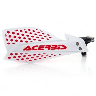 Acerbis X-Ultimate Handguards - White Red Image 3