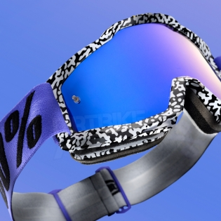 100% Accuri Goggles - Brentwood Mirror Lens Image 2