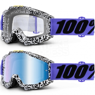 100% Accuri Goggles - Brentwood Mirror Lens Image 3
