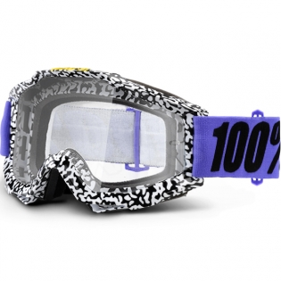 100% Accuri Goggles - Brentwood Clear Lens Image 3