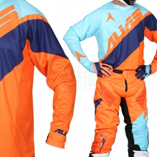 2017 Alias A1 Kit Combo - Floated Sky Blue Neon Orange Image 2