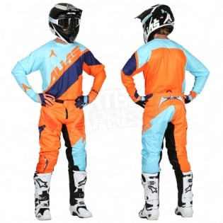 2017 Alias A1 Kit Combo - Floated Sky Blue Neon Orange Image 3