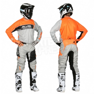 2017 Alias A2 Kit Combo - Sidestacked Grey Neon Orange Image 3