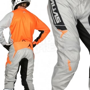 2017 Alias A2 Kit Combo - Sidestacked Grey Neon Orange Image 4