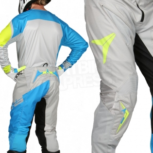 2017 Alias A1 Jersey - Floated Cyan Chartreuse Image 4