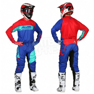2017 Alias A2 Jersey - Sidestacked Blue Red Image 3