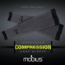 Mobius Graduated Compression Knee Brace Sleeves
