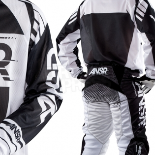 2018 Answer Syncron Air Jersey - Black White Image 4
