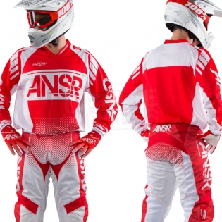 2018 Answer Syncron Air Jersey - Red White Image 3