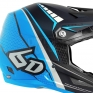 6D ATR-1 Helmet - Edge Neon Blue Grey