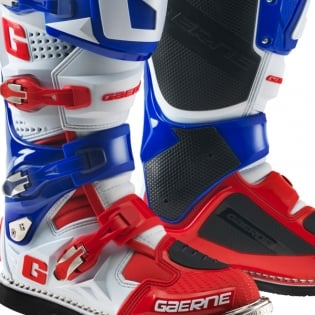 Gaerne SG12 Motocross Boots - Limited Edition Red White Blue Image 3