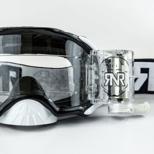 Rip n Roll Platinum WVS Roll Off Goggles - Black Image 2