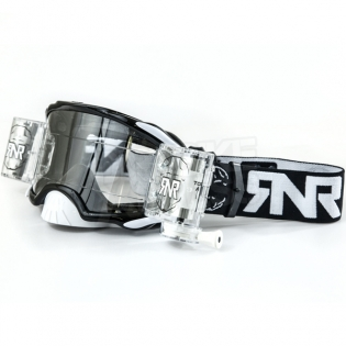Rip n Roll Platinum WVS Roll Off Goggles - Black Image 3