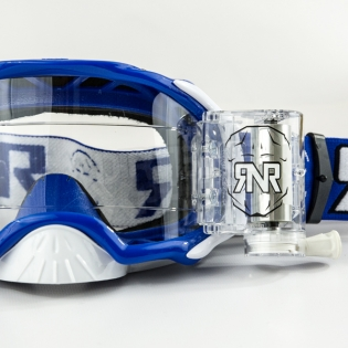 Rip n Roll Platinum WVS Roll Off Goggles - Blue Image 2