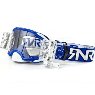 Rip n Roll Platinum WVS Roll Off Goggles - Blue Image 3