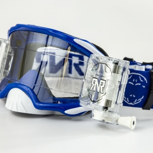 Rip n Roll Platinum WVS Roll Off Goggles - Blue Image 4