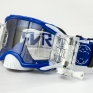 Rip n Roll Platinum WVS Roll Off Goggles - Blue