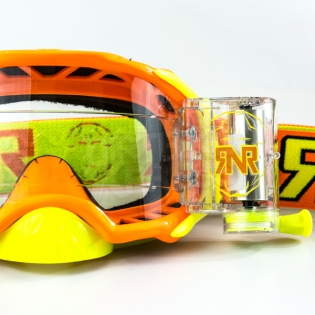 Rip n Roll Platinum WVS Roll Off Goggles - Orange Image 2