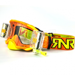 Rip n Roll Platinum WVS Roll Off Goggles - Orange Image 3