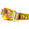 Rip n Roll Platinum WVS Roll Off Goggles - Orange