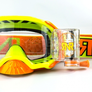 Rip n Roll Platinum WVS Roll Off Goggles - Yellow Image 2