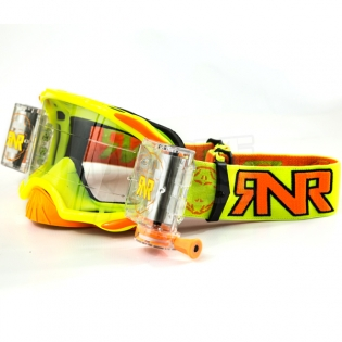 Rip n Roll Platinum WVS Roll Off Goggles - Yellow Image 3