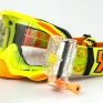 Rip n Roll Platinum WVS Roll Off Goggles - Yellow