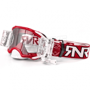 Rip n Roll Platinum WVS Roll Off Goggles - Red Image 3