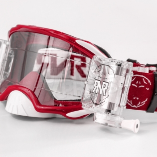 Rip n Roll Platinum WVS Roll Off Goggles - Red Image 4