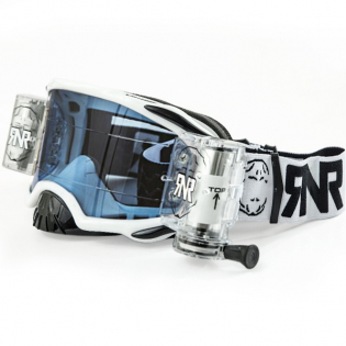 Rip n Roll Platinum WVS Roll Off Goggles - White Image 3