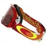 Oakley Airbrake MX Goggles - Troy Lee Splinter Orange Red Prizm