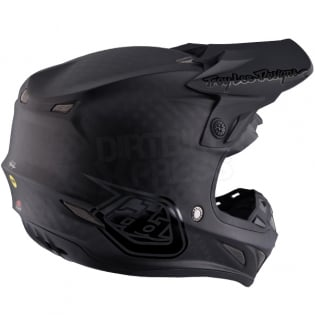 Troy Lee Designs SE4 Carbon Helmet - Midnight Black Image 4