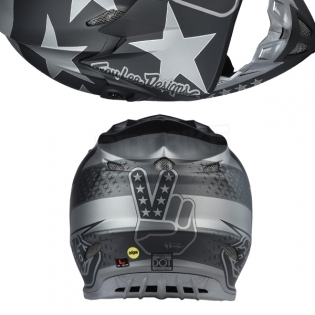 Troy Lee Designs SE4 Composite Helmet - Freedom Black Image 3