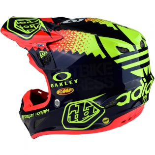Troy Lee Designs SE4 Composite Helmet - Team Navy Image 2