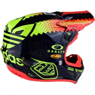 Troy Lee Designs SE4 Composite Helmet - Team Navy Image 4