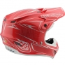 Troy Lee Designs SE4 Polyacrylite Helmet - Pinstripe Red