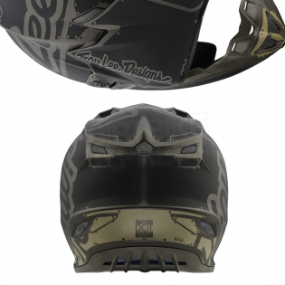 Troy Lee Designs SE4 Polyacrylite Helmet - Factory Grey Image 3