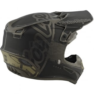 Troy Lee Designs SE4 Polyacrylite Helmet - Factory Grey Image 4