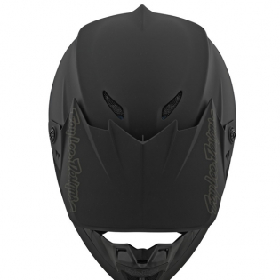 Troy Lee Designs SE4 Polyacrylite Helmet - Mono Black Image 4