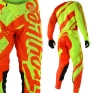 Troy Lee Designs SE Air Kit Combo - Shadow Flo Yellow Orange