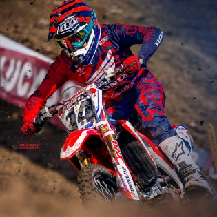 Troy Lee Designs SE Air Kit Combo - Shadow Red Navy Image 3