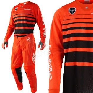Troy Lee Designs SE Air Kit Combo - Streamline Orange Image 2