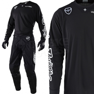 Troy Lee Designs SE Air Kit Combo - Solo Black Image 2