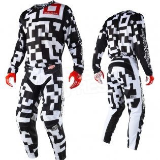 Troy Lee Designs GP Air Kit Combo - Maze Black White Image 3