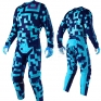 Troy Lee Designs GP Air Kit Combo - Maze Turquoise Navy
