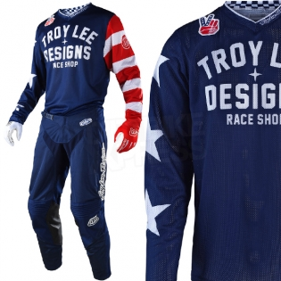 Troy Lee Designs GP Air Kit Combo - Americana Navy Image 2
